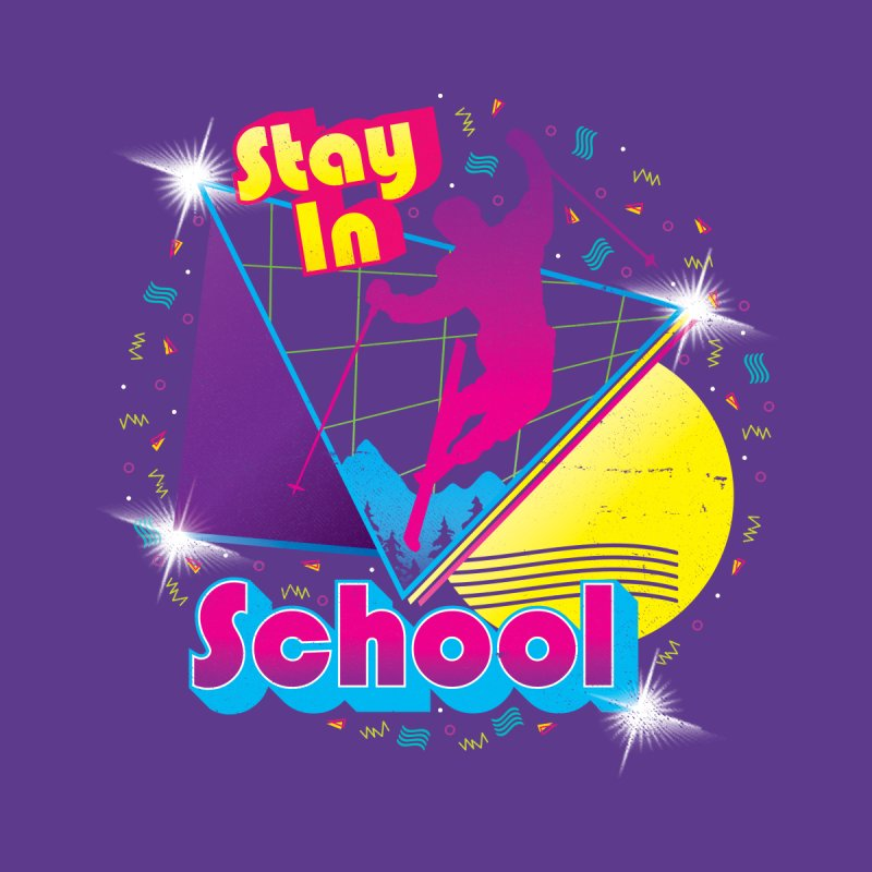 STAY IN SCHOOL... Accessories Bag by Threadless Artist Shop
