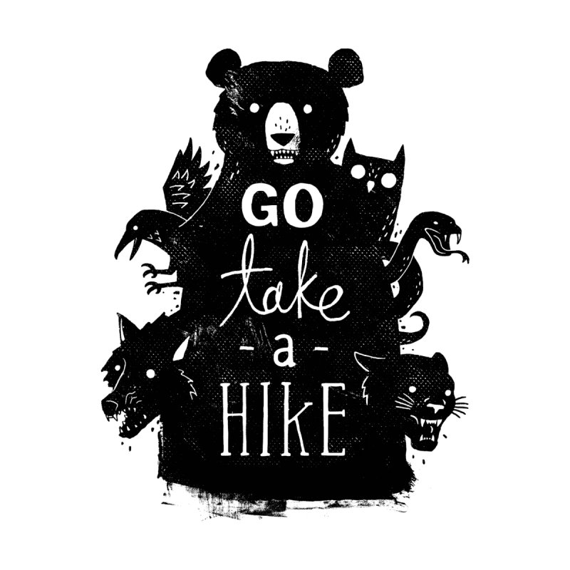 Go Take A Hike Men's T-Shirt by Threadless Artist Shop