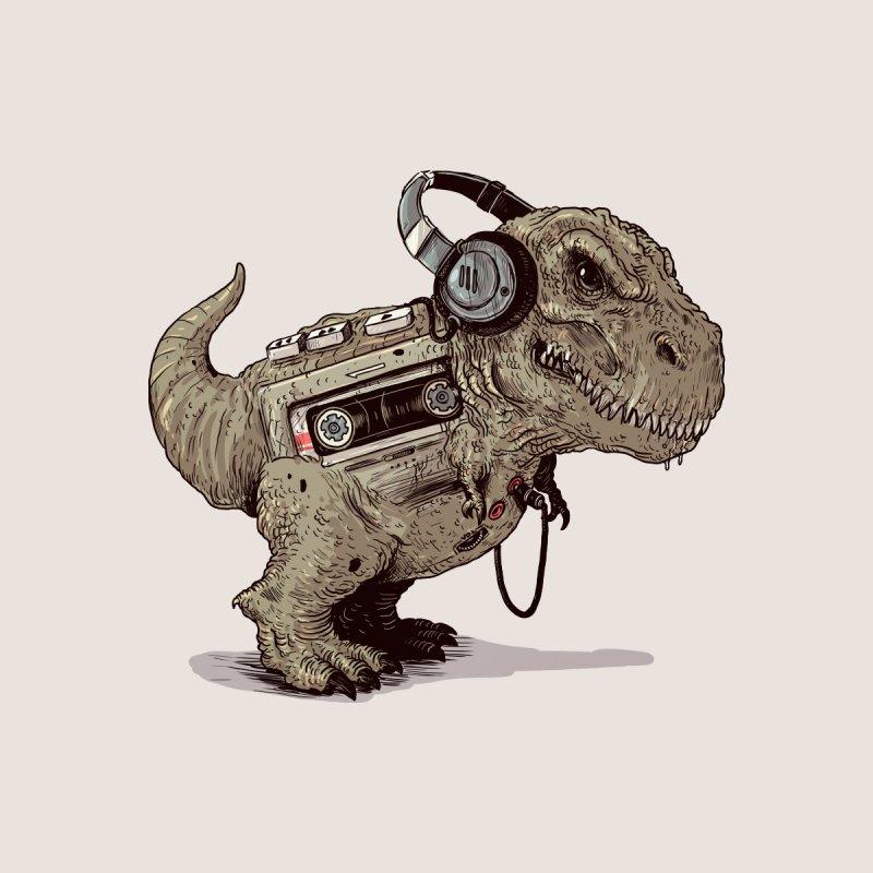 Tyrannosaurus Walkman Men's T-Shirt by Threadless Artist Shop