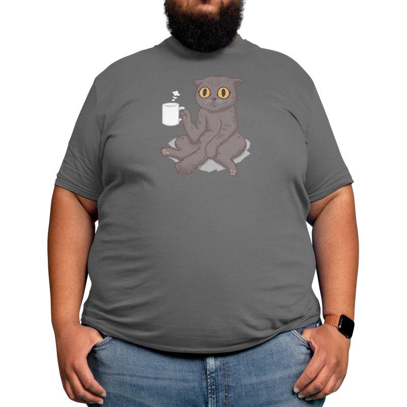 Catffeinated Men's T-Shirt by Threadless Artist Shop