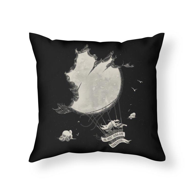 Great Idea Home Throw Pillow by Threadless Artist Shop
