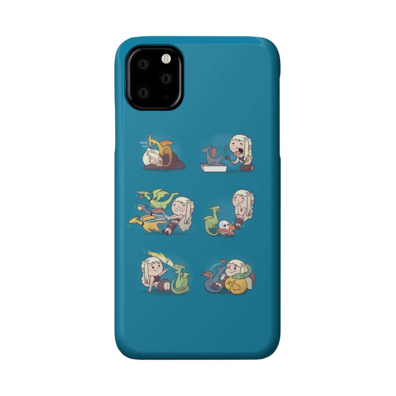 Crazy Dragon Lady Accessories Phone Case by Threadless Artist Shop