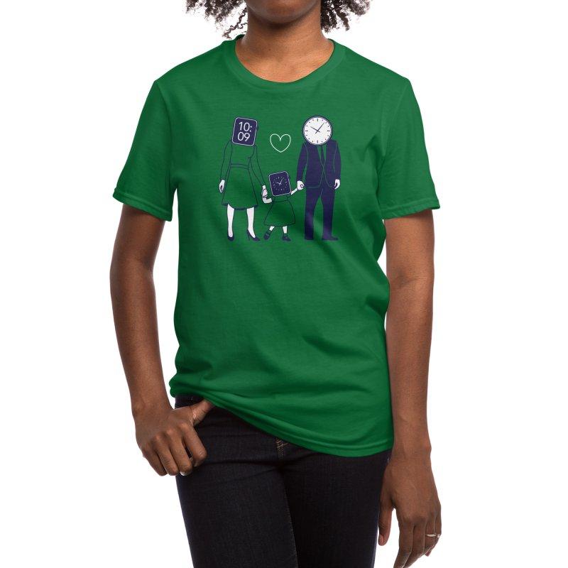 Family Time Women's T-Shirt by Threadless Artist Shop