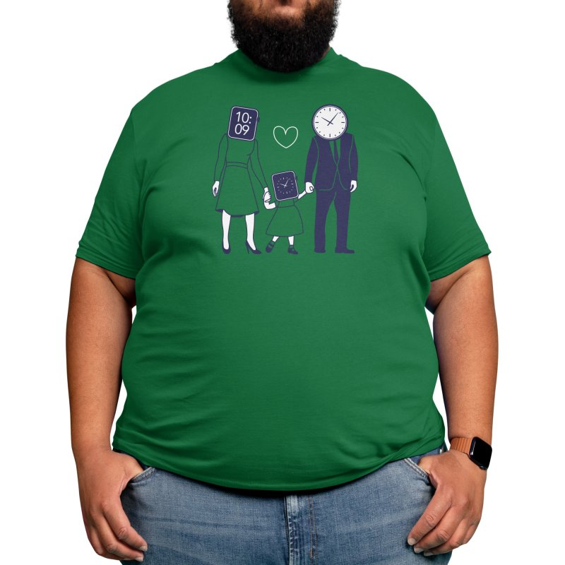 Family Time Men's T-Shirt by Threadless Artist Shop
