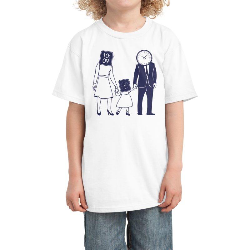 Family Time Kids T-Shirt by Threadless Artist Shop