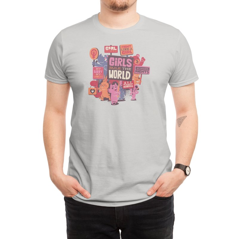 Girls Rule The World Men's T-Shirt by Threadless Artist Shop