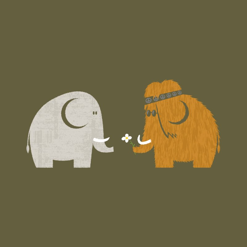 Mammoths were Hippies Men's T-Shirt by Threadless Artist Shop