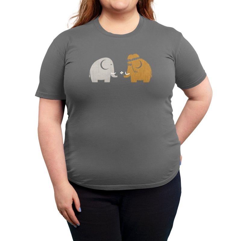Mammoths were Hippies Women's T-Shirt by Threadless Artist Shop