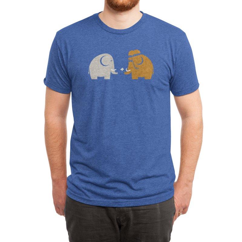 Mammoths were Hippies Men's T-Shirt by Threadless Artist Shop