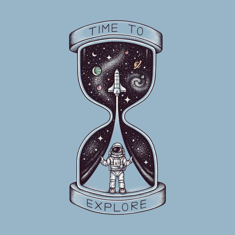 Time to Explore Men's T-Shirt by Threadless Artist Shop