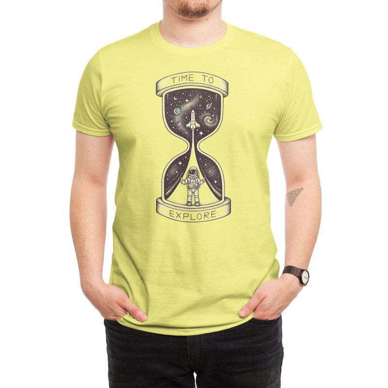 Time to Explore Men's T-Shirt by Threadless Artist Shop
