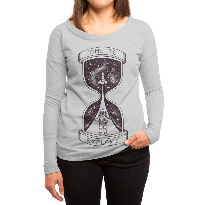 Time to Explore Women's Longsleeve T-Shirt by Threadless Artist Shop