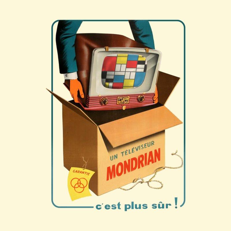 Mondrian Channel Accessories Skateboard by Threadless Artist Shop