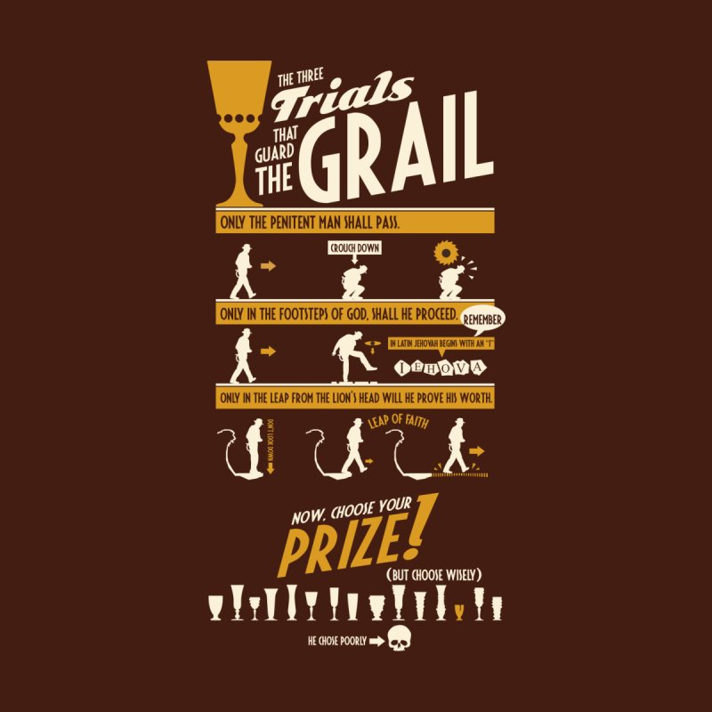 The Three Trials Men's T-Shirt by Threadless Artist Shop