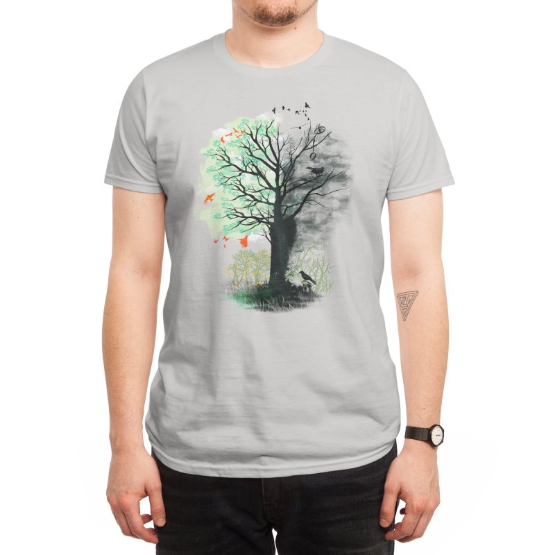 They Loved the Landscape to Death Men's T-Shirt by Threadless Artist Shop