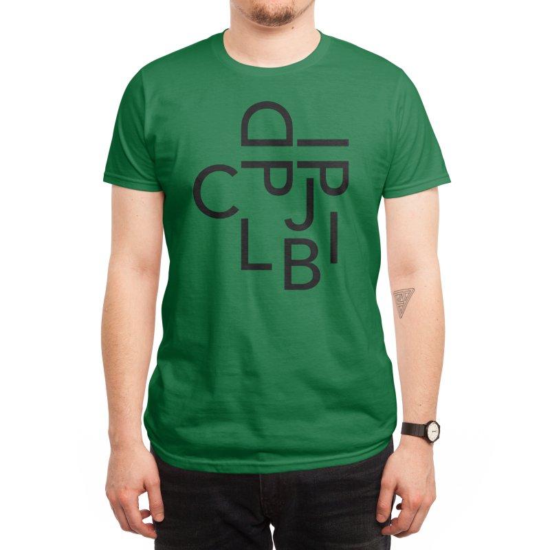 Type Face Men's T-Shirt by Threadless Artist Shop