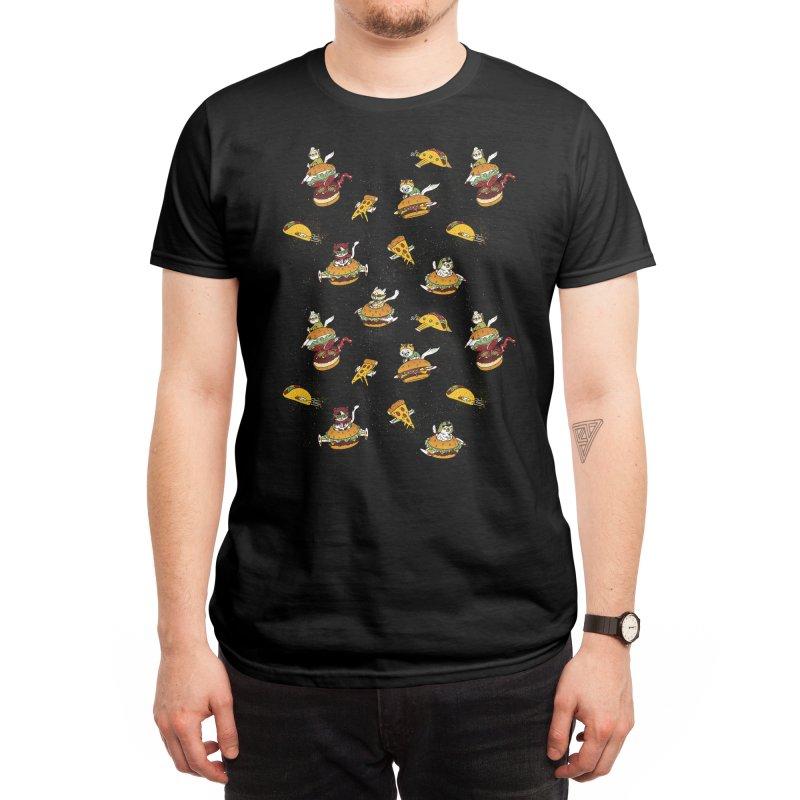 I Can Haz Cheeseburger Spaceships? Men's T-Shirt by Threadless Artist Shop