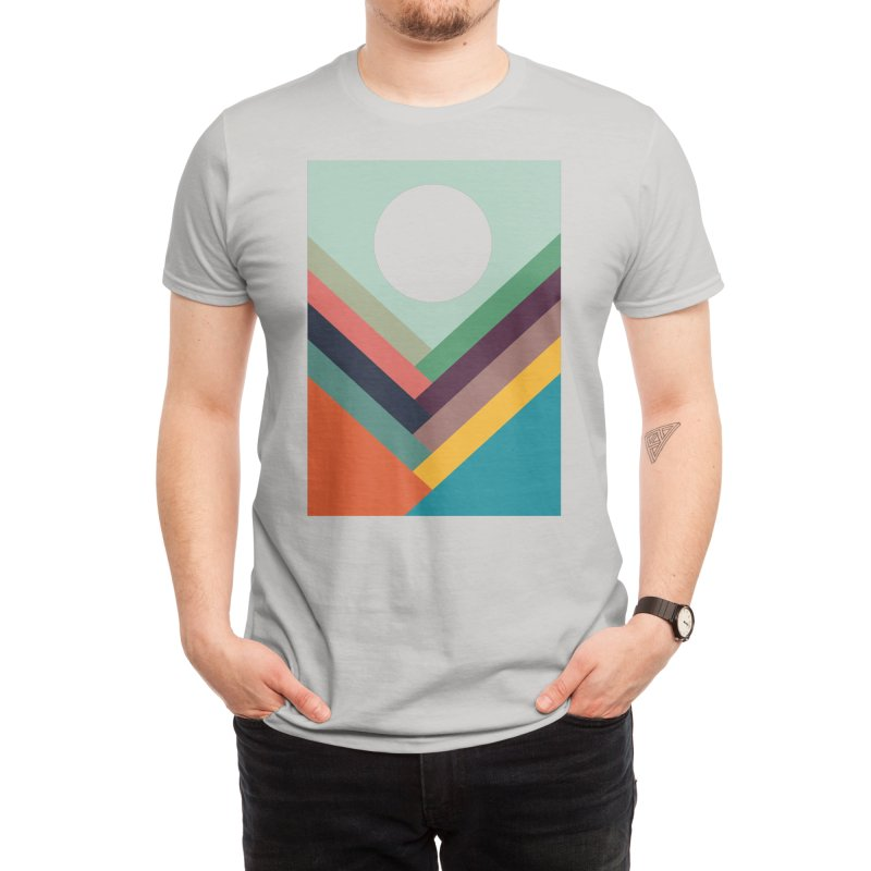 Rows of Valleys Men's T-Shirt by Threadless Artist Shop