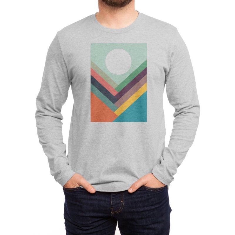 Rows of Valleys Men's Longsleeve T-Shirt by Threadless Artist Shop