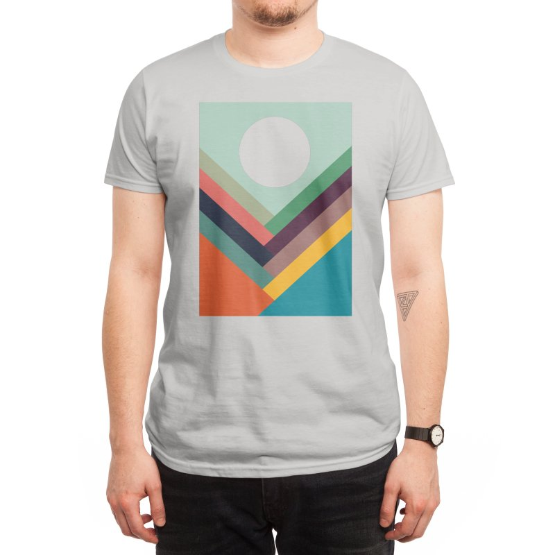 Rows of Valleys Men's T-Shirt by Threadless Artist Shop