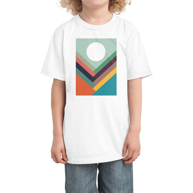 Rows of Valleys Kids T-Shirt by Threadless Artist Shop