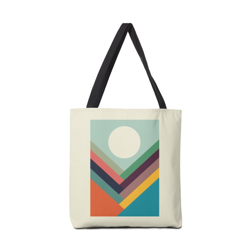 Rows of Valleys Accessories Bag by Threadless Artist Shop
