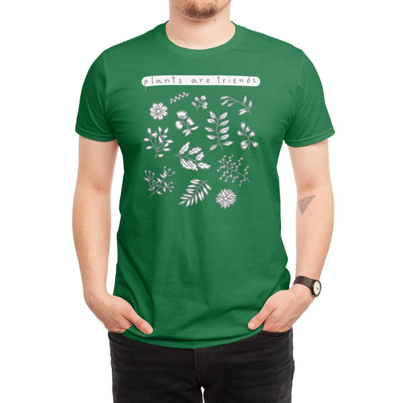 Plants are friends Men's T-Shirt by Threadless Artist Shop