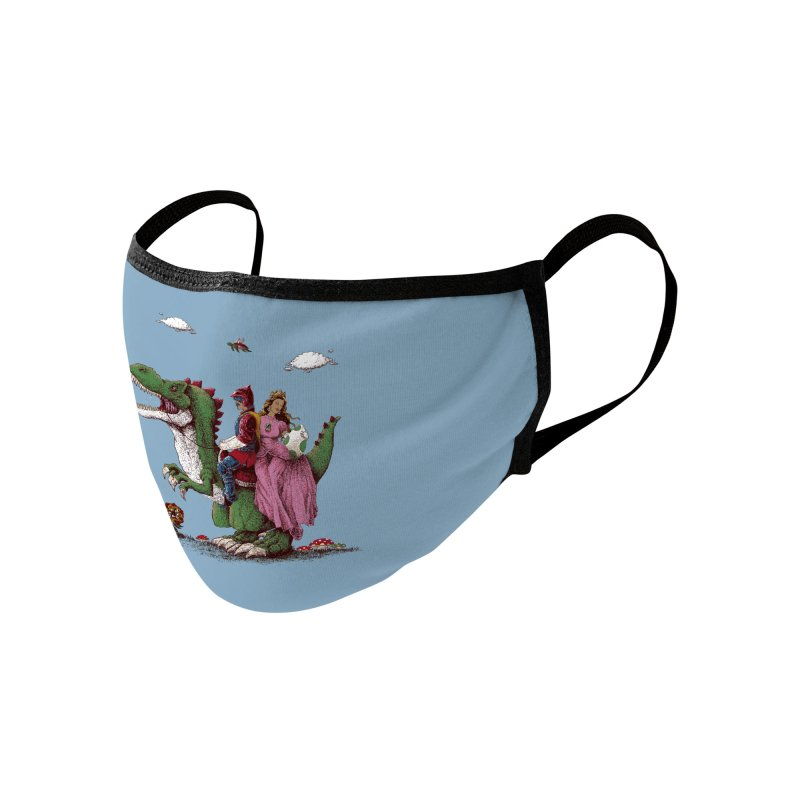 Historical Reconstitution Accessories Face Mask by Threadless Artist Shop