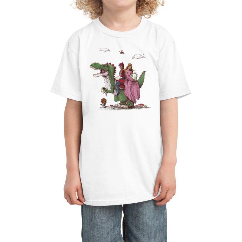 Historical Reconstitution Kids T-Shirt by Threadless Artist Shop