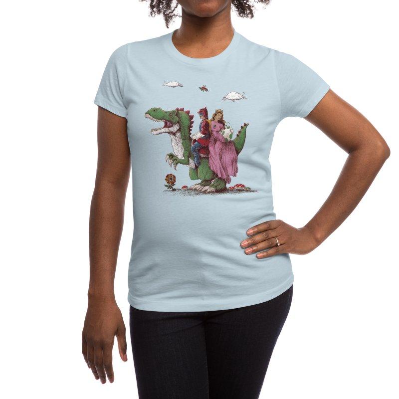 Historical Reconstitution Women's T-Shirt by Threadless Artist Shop