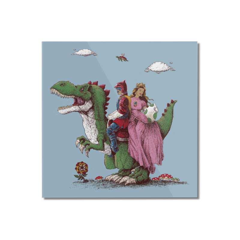 Historical Reconstitution Home Mounted Acrylic Print by Threadless Artist Shop