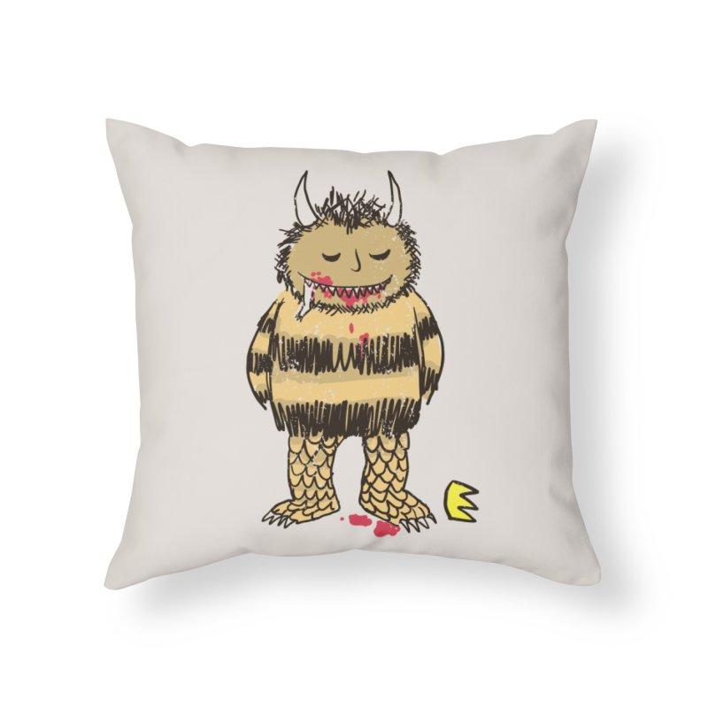 Natural Instinct Home Throw Pillow by Threadless Artist Shop