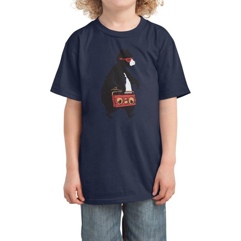 Bare Necessity Kids T-Shirt by Threadless Artist Shop
