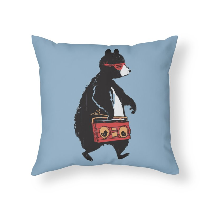 Bare Necessity Home Throw Pillow by Threadless Artist Shop