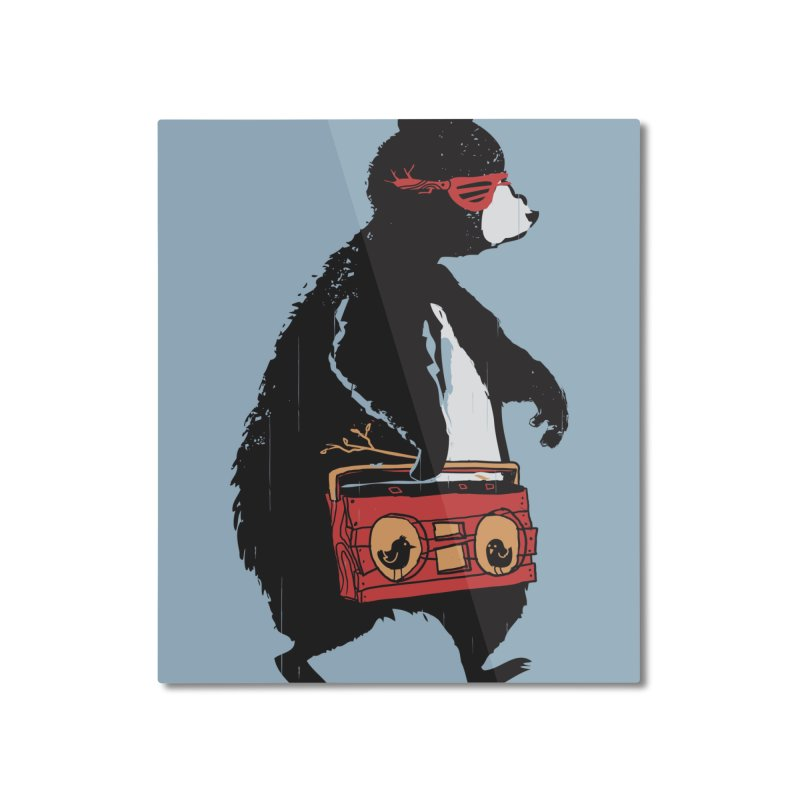 Bare Necessity Home Mounted Aluminum Print by Threadless Artist Shop
