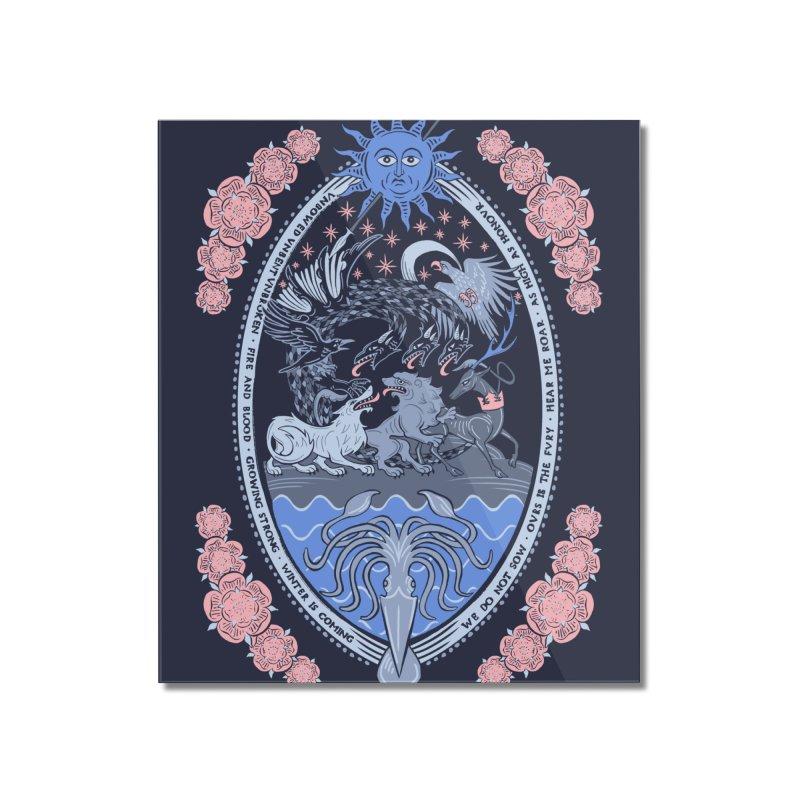 Ye Olde Throne Home Mounted Acrylic Print by Threadless Artist Shop