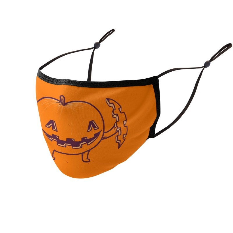 Halloween Slice of Life Accessories Face Mask by Threadless Artist Shop