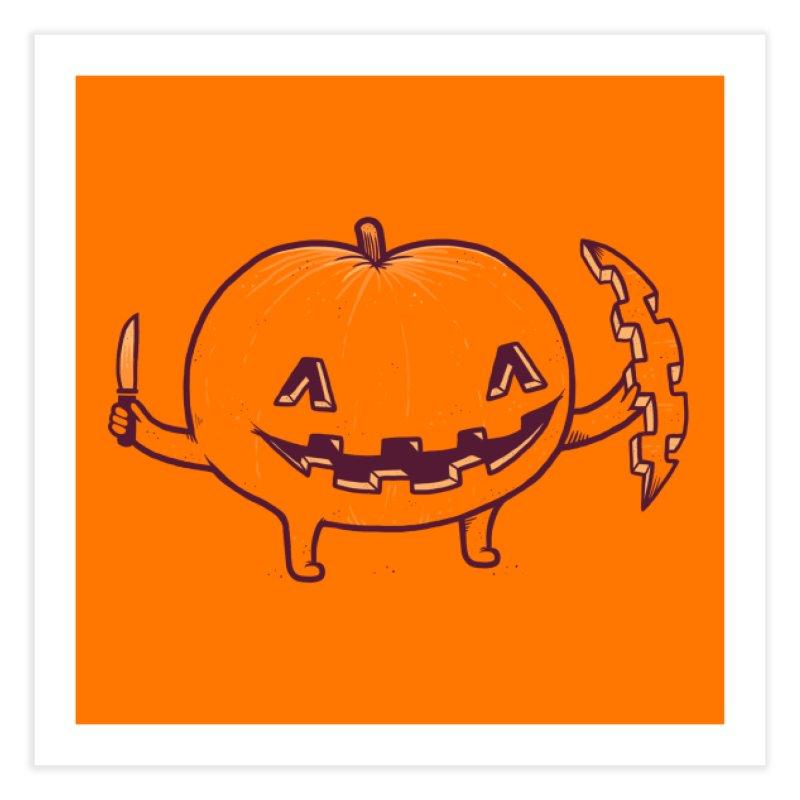 Halloween Slice of Life Home Fine Art Print by Threadless Artist Shop