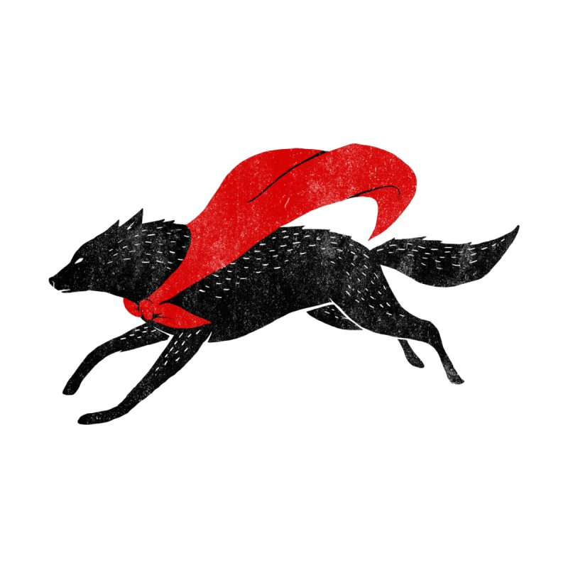 The Red Wolf Men's T-Shirt by Threadless Artist Shop