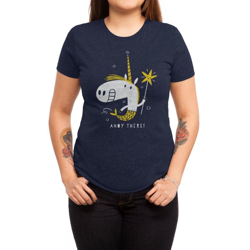 MERMICORN Women's T-Shirt by Threadless Artist Shop