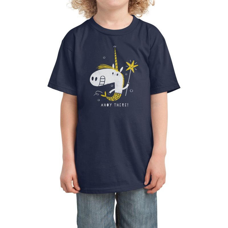 MERMICORN Kids T-Shirt by Threadless Artist Shop
