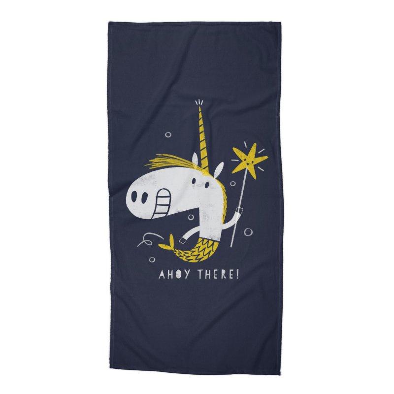MERMICORN Accessories Beach Towel by Threadless Artist Shop