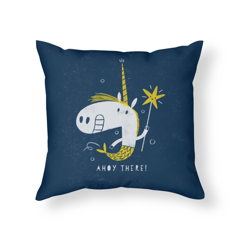 MERMICORN Home Throw Pillow by Threadless Artist Shop
