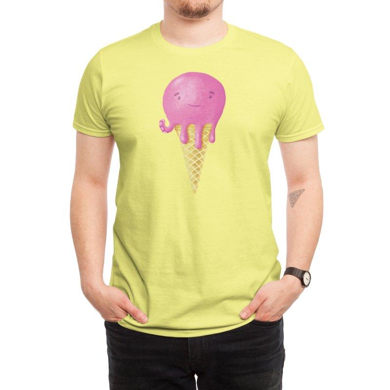 Octopus Ice Cream Men's T-Shirt by Threadless Artist Shop