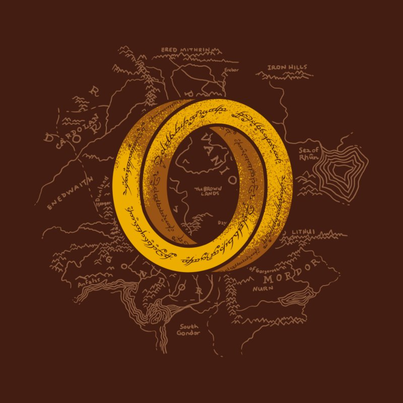 One Impossible Ring Men's T-Shirt by Threadless Artist Shop