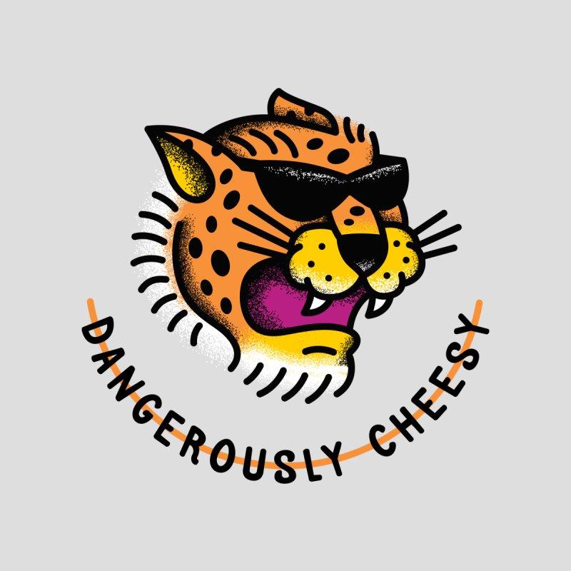 Dangerous Cheese Kids T-Shirt by Threadless Artist Shop