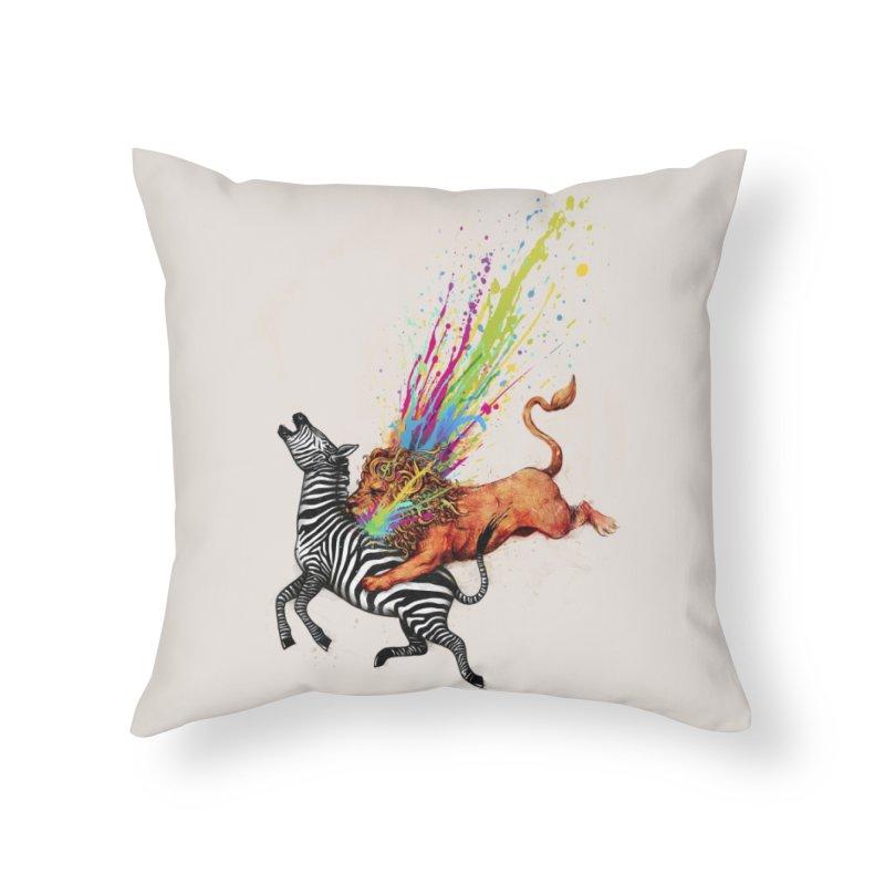 Kill Monotony Home Throw Pillow by Threadless Artist Shop