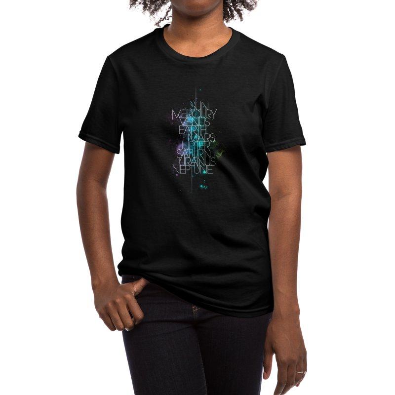 Solar System Women's T-Shirt by Threadless Artist Shop