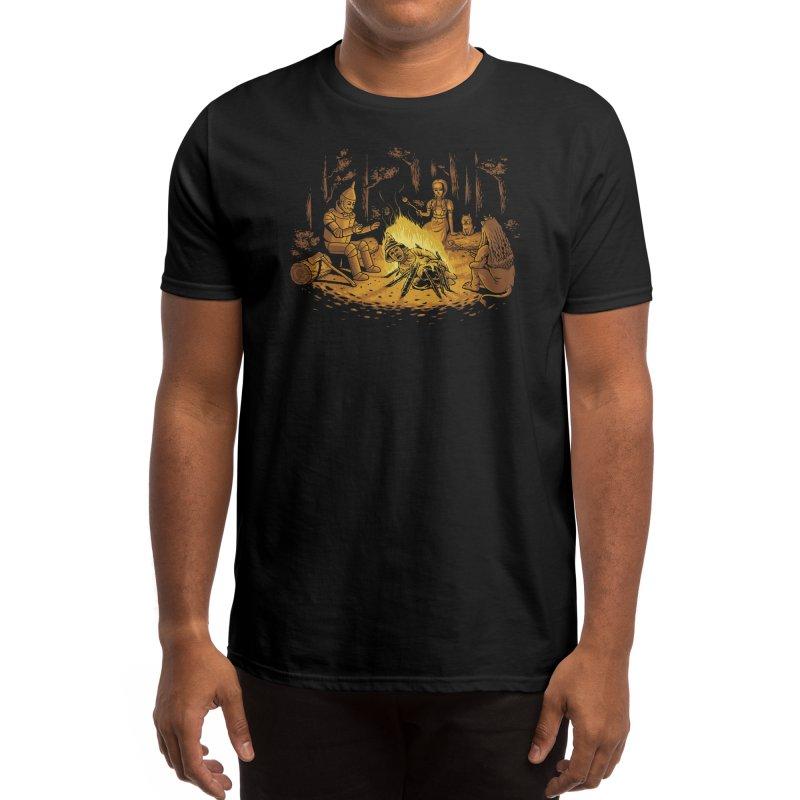 Campfire Men's T-Shirt by Threadless Artist Shop