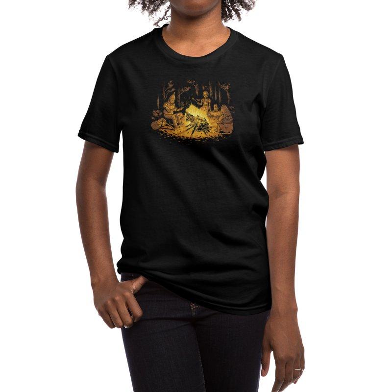 Campfire Women's T-Shirt by Threadless Artist Shop